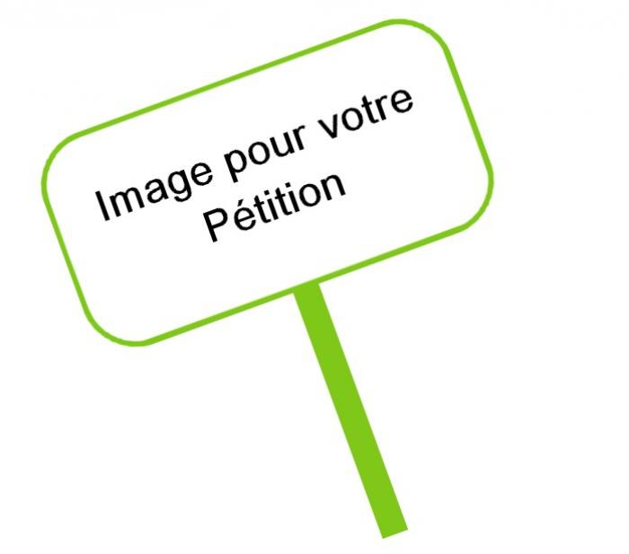 Exemple de pétition